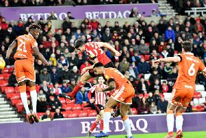 Jack Baldwin salvaged a point for Sunderland with a second half header