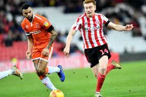 Duncan Watmore impressed on his return to the Sunderland starting XI