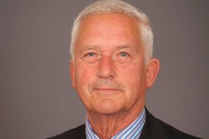 Coun Glen Sanderson, cabinet member for environment and local services.