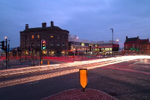 The Wheatsheaf junction in Sunderland.