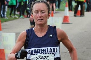 Alyson Dixon, who produced a new record at the Chester-le-Street parkrun.