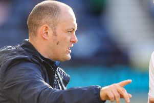 Alex Neil dishes out instructions during PNE's 0-0 draw with Nottingham Forest on Saturday
