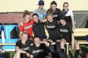 Some of the girls from Nottinghamshire and Derbyshire that Starbridge Sports took to Miami last year.