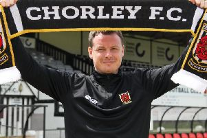 Chorley manager Jamie Vermiglio is also a school headmaster