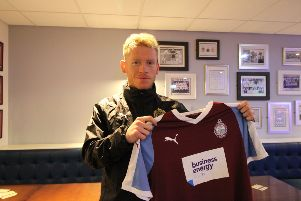 South Shields new signing Connor Bell.