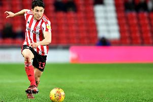 Sunderland's Luke O'Nien won two penalties from right-back against Gillingham on Tuesday night.