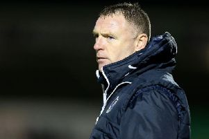 Graham Coughlan was appointed permanent manager of Bristol Rovers last month.