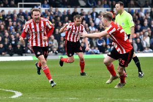 Aiden McGeady netted Sunderland's second at Bristol Rovers