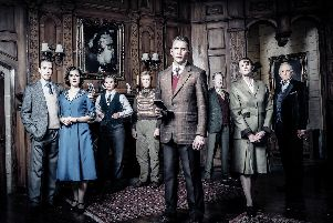 The cast of The Mousetrap. Images by Johann Persson.