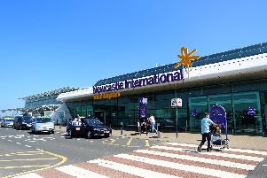 Almost 5.5 million passengers passed through the doors of Newcastle International Airport last year.