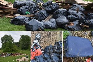 Flytipping and waste in the South Hylton community.