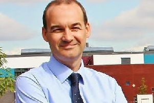 Mark Cottingham, principal of Shirebrook Academy.