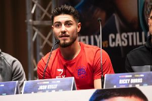 Josh Kelly is looking to gatecrash the world welterweight scene in 2019 (Pic via Matchroom Boxing).