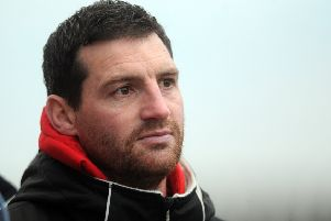 Rams coach Lee Greenwood has admitted Dewsbury are involved in a fight to stay in the Championship this season as they prepare to entertain Sheffield Eagles on Sunday.