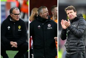 LEADING LIGHTS: Marcelo Bielsa, Chris Wilder and Daniel Stendel.