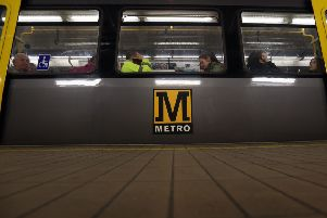 Video Available.''Tyne and Wear Metro modernisation programme''Ongoing development of Central Station Metro, Newcastle.