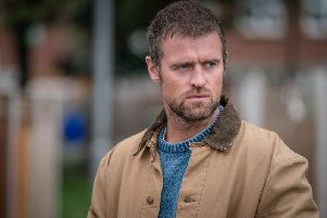 Jonas Armstrong, who lives on the Lancashire coast, stars as fisherman Sean Meredith in the new ITV crime drama series The Bay