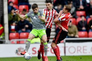 Tom Flanagan returned to the Sunderland side on Saturday after suffering concussion