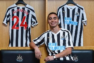 Miguel Almiron has made an instant impact at Newcastle.
