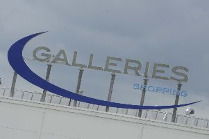 The Galleries shopping centre at Washington