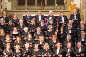 Bishopwearmouth Choral Society in full flow.