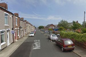 Ninth Street in Blackhall: Google Maps
