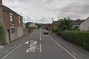 The incident happened on Thorpes Road.