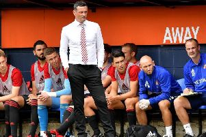 Jack Ross is eyeing the League One title