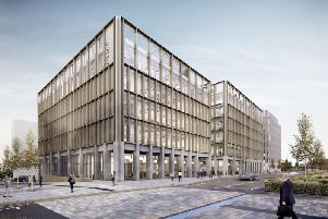 How the new City Hall building could look on Sunderland's redeveloped Vaux site.