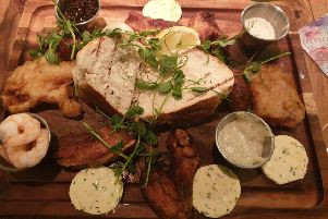 Friends Platter at the Market Tavern.