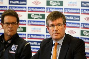 Ian Watmore used to be chief executive of the Football Association.