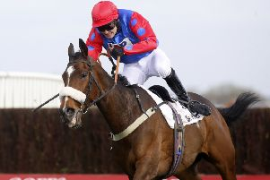 Jonjo O'Neill junior confirmed his prowess when winning on Chic Name at Newbury.