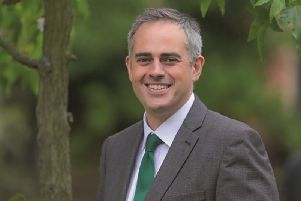 The Green Party's co-leader Jonathan Bartley.