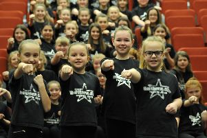 Youngsters from Northern Star Theatre Arts who are to star in Joseph at Newcastle's Theatre Royal.