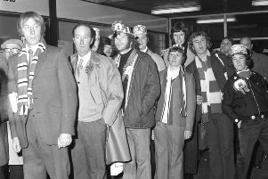 Here we go! They're off to Wembley in 1973.