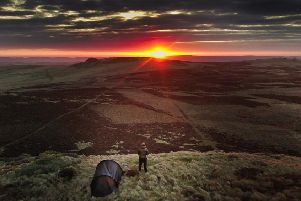 FIRST: A spectacular winter sunrise lights up a wild camp in the Cheviots. Picture by Richard Smith. 466 likes