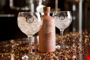 Strawberries and Cream gin by Poetic License