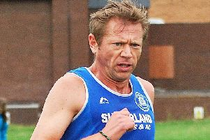 Steve McMahon, who has a good chance of lifting a team gold medal in Blyth 10km.
