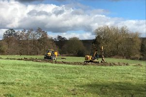 Derbyshire Wildlife Trust and the Peak Shopping Village are teaming up to create a new nature reserve on five acres of land outside the retail outlet.