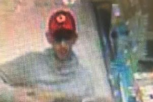 Police want to speak to this man in connection with the theft of a television from Asda at The Galleries in Washington.