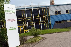 The Faltec factory at West Boldon