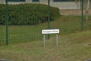 The site is on Navigation Road