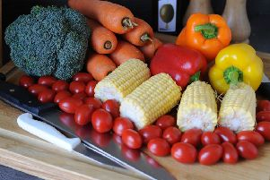 Vegetables are part of a healthy diet. Picture: PA.