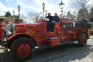 Peter and his engine are at Beamish this weekend for the Great North Steam Fair. Picture: Beamish Museum.