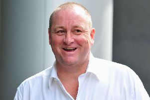 Sports Director founder Mike Ashley, whose takeover bid for Debenhams was recently turned down.