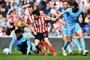 Sunderland v Coventry City was an action-packed encounter on the pitch - but things turned ugly off it.