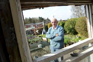 Pensioner Lesley Barber is angry over an increase in allotment rents.