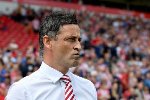 Jack Ross is looking to steer Sunderland into second place