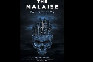The front cover of David Turton's debut novel, The Malaise.