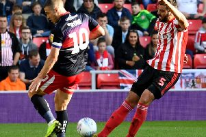 Alim Ozturk in action for Sunderland in the win over Doncaster Rovers.